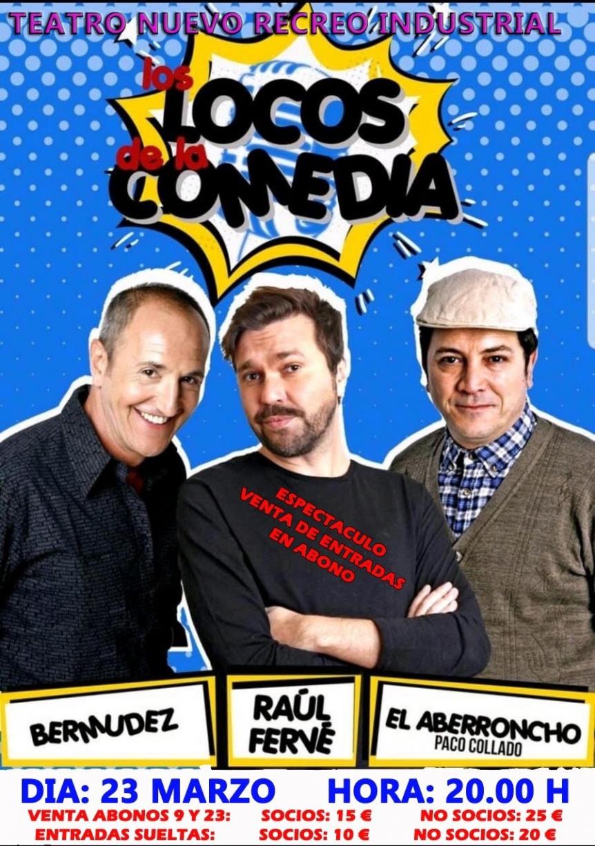 Los locos de la comedia