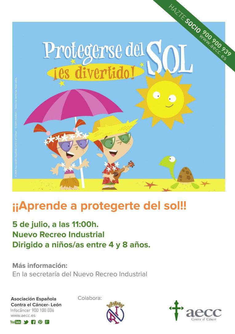 ¡Aprende a protegerte del sol!