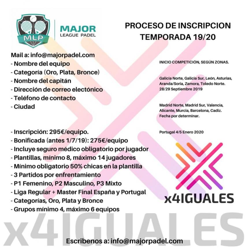 COMPETICIÓN DE PÁDEL