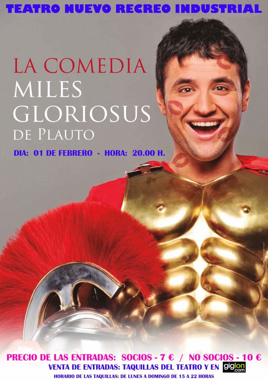 Teatro: Miles Gloriosus