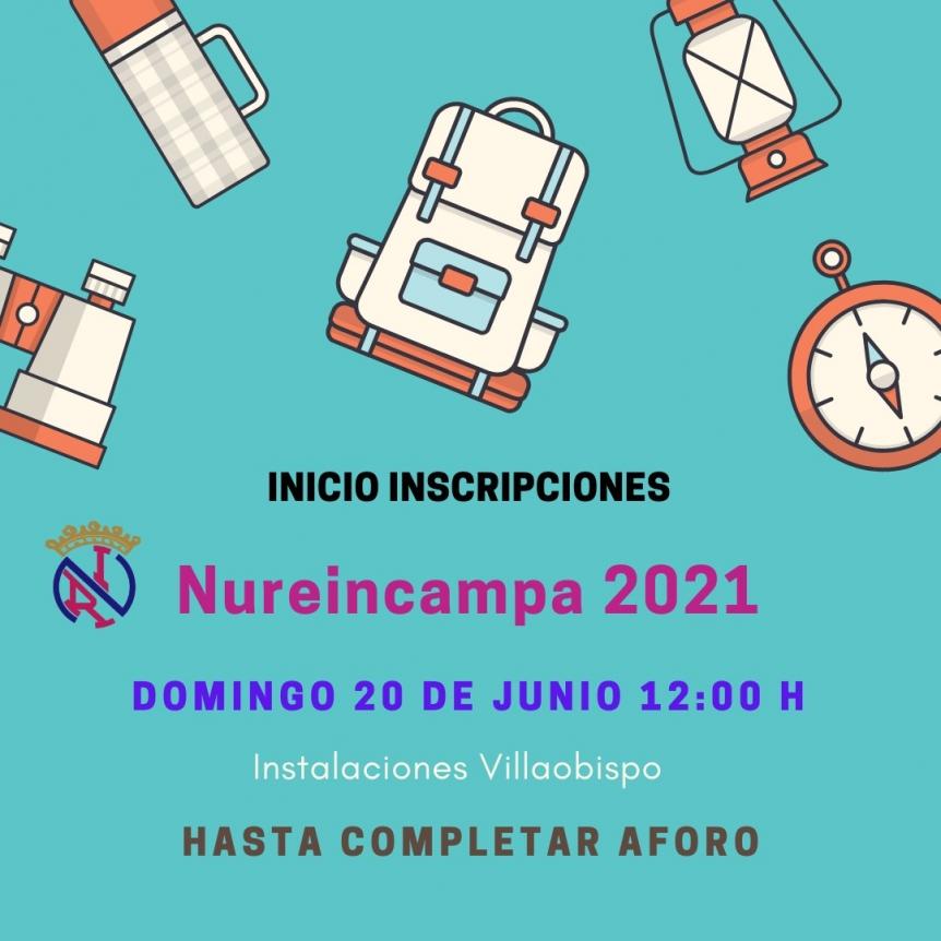 INSCRIPCIÓN NUREINCAMPA 2021