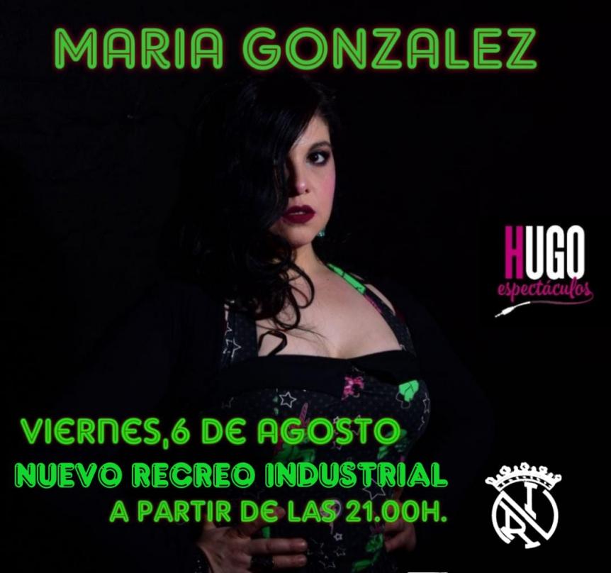 Cena amenizada - Mónica González